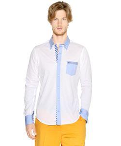 Paul & Shark | Cotton Piqué Button Down Shirt