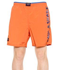 Paul & Shark | Printed Nylon Swim Shorts