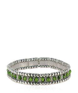 Philippe Audibert | Wappo Green Agate Stretch Bracelet