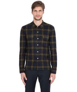 Salvatore Piccolo | Plaid Cotton Flannel Shirt