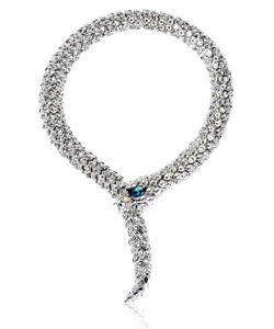 Simon Harrison | Crystal Snake Necklace