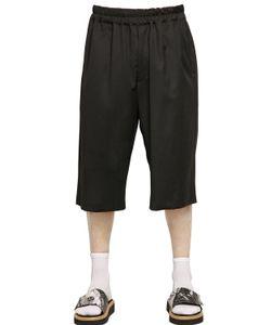 Xander Zhou | Fluid Wool Shorts
