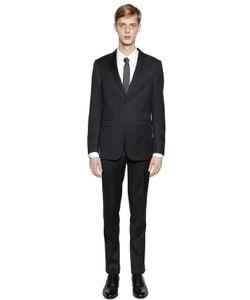 Z Zegna | Virgin Wool Twill Suit