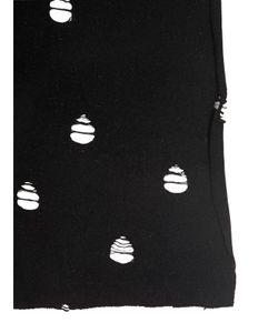 Cutuli Cult | Perforated Wool Viscose Knit Scarf