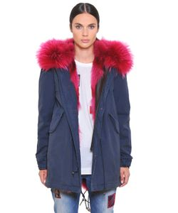 Mr & Mrs Italy | Canvas Parka W/ Coyote Murmansky Fur