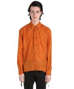Marni   Waterproof Nylon Shirt Style Jacket