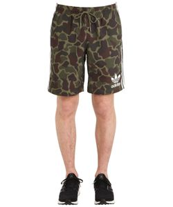 Adidas Originals | Camo Printed Swim Shorts