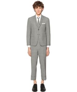 Thom Browne | Micro Houndstooth Light Wool Suit