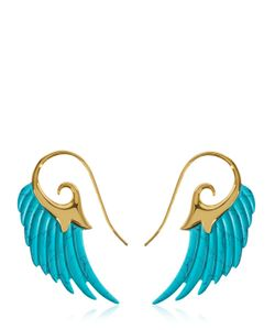 Noor Fares | Fly Me To The Moon Wing Earrings