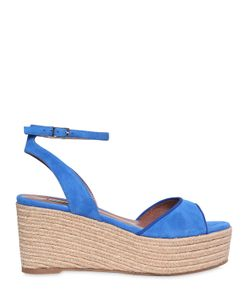 Tabitha Simmons   80mm Tessa Suede Wedge Sandals