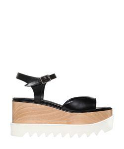 Stella McCartney   75mm Elyse Faux Leather Sandals
