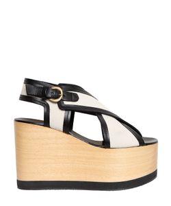 Isabel Marant   110mm Zlova Canvas Criss Cross Sandals