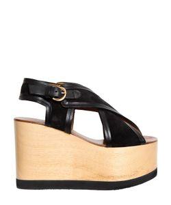 Isabel Marant   110mm Zlova Suede Crisscross Sandals