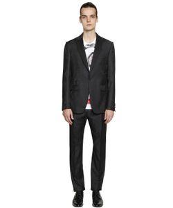Etro | Rose Jacquard Grain De Poudre Wool Suit