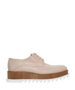 Jil Sander   50mm Leather Lace-Up Shoes