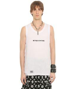 KTZ | Printed Cotton Jersey Tank Top