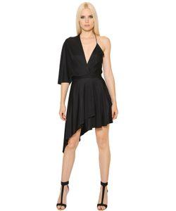 Alexandre Vauthier | Asymmetrical Shiny Jersey Dress