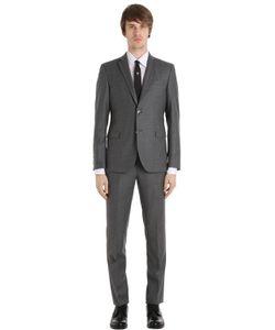 Manuel Ritz | Slim Fit Super 110s Wool Flannel Suit