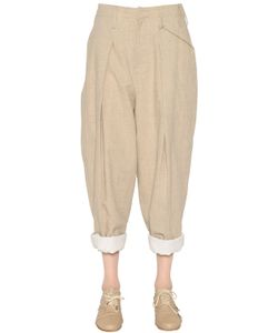 Y's   Cotton Linen Canvas Pants