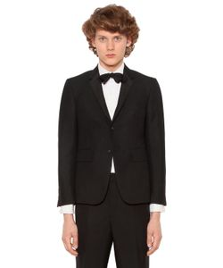 Thom Browne | Classic Wool Blend Tuxedo Suit