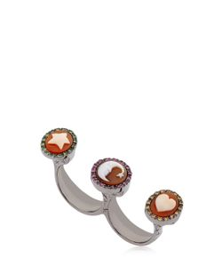 Amedeo | Miniature Double Finger Ring