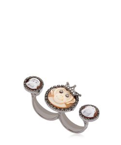 Amedeo | Monkeydeo Double Finger Ring