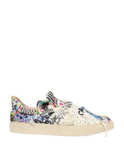 Ports 1961   20mm Knot Hand-Drawn Canvas Sneakers