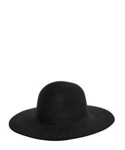 Ports 1961   Rabbit Fur Felt Brimmed Hat
