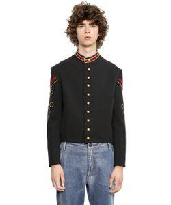 Ports 1961   Cotton Viscose Blend Military Jacket
