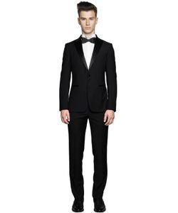 Z Zegna | Super 120s Wool Faille Tuxedo Suit