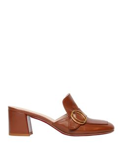 FRANCO COLLI | 60mm Buckled Leather Mules