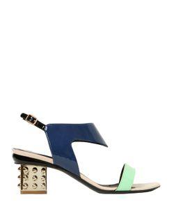 Nicholas Kirkwood | 55mm Patent Leather Slingback Sandals