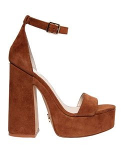 WINDSOR SMITH | 130mm Roar Suede Platform Sandals