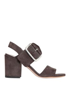 Stuart Weitzman | 65mm City Buckle Suede Sandals