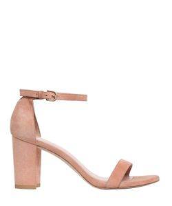 Stuart Weitzman | 75mm Nearly Suede Sandals