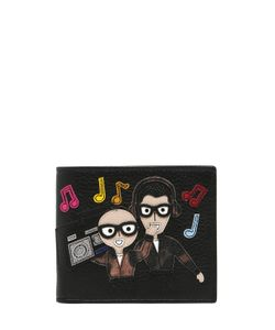 Dolce & Gabbana   Designers Radio Leather Classic Wallet