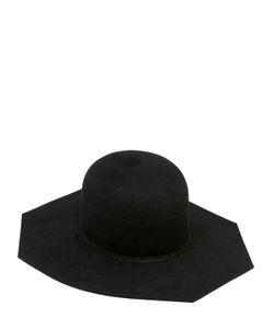 Ilariusss | Lapin Felt Hat Octagon Brim