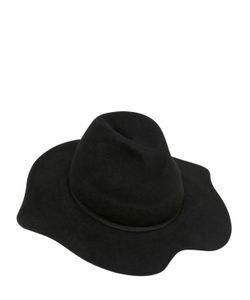 Ilariusss | Lapin Felt Hat W/ Mouth Brim