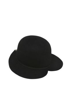 Ilariusss | Lapin Felt Hat W/ Heart Brim