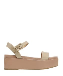 Sergio Rossi   60mm Kawai Patent Leather Sandals