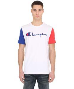 Champion | Color Block Cotton Jersey T-Shirt