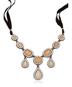 Yazbukey | Gold Diamonds Necklace
