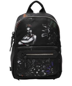Lanvin | Printed Nylon Backpack