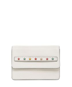 RED Valentino | Stars Leather Shoulder Bag