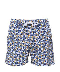 Frescobol Carioca   Cerejeira Print Swim Shorts