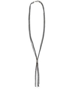 Emanuele Bicocchi   Braided Chain Sterling Necklace