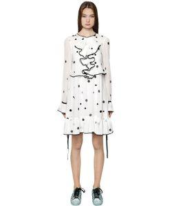 Odeeh | Polka Dot Printed Cotton Voile Dress