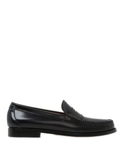 G.H.BASS&CO | Weejun Logan 2 Tone Leather Penny Loafer