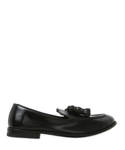 Alberto Fasciani | Tasseled Hand-Brushed Leather Loafers