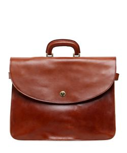 Officine Creative | Brushed Leather Briefcase